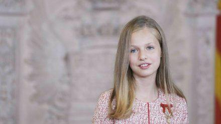 Prinzessin Leonor verlässt im Sommer Madrid. (dr/spot)
