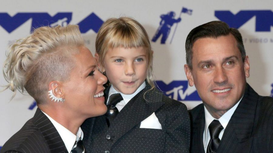 Pink hat mit ihrer neunjährigen Tochter einen Song aufgenommen. (ncz/spot)