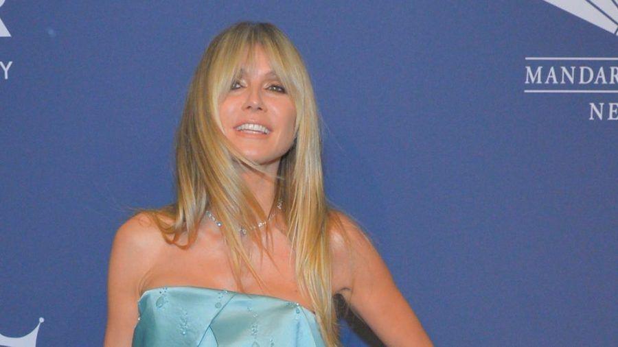 Heidi Klum bei einem Auftritt in New York (hub/spot)