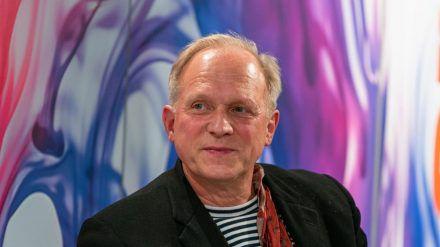 Ulrich Tukur bei einem Auftritt in Frankfurt. (hub/spot)