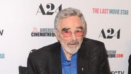 Burt Reynolds rund ein halbes Jahr vor seinem Tod. (dr/spot)