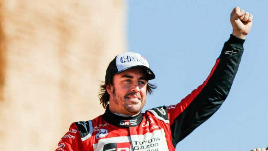 Fernando Alonso hat eine Operation nach einem Unfall offenbar gut überstanden (wue/spot)