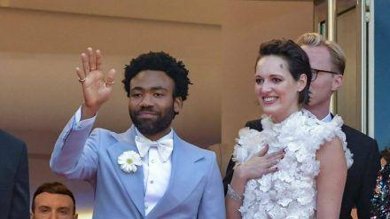 Donald Glover und Phoebe Waller-Bridge 2018 bei den Filmfestspielen von Cannes. (ncz/spot)