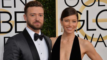 Justin Timberlake und Jessica Biel auf dem roten Teppich im Januar 2017. (jom/spot)