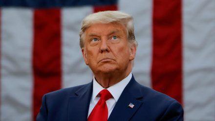 Kündigte nach der Entscheidung bereits seine Rückkehr auf die politische Bühne an: Donald Trump (stk/spot)