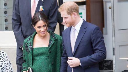Meghan und Harry erwarten das zweite gemeinsame Kind. (mia/spot)