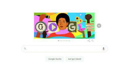 Ein Google Doodle für Audre Lorde (wue/spot)