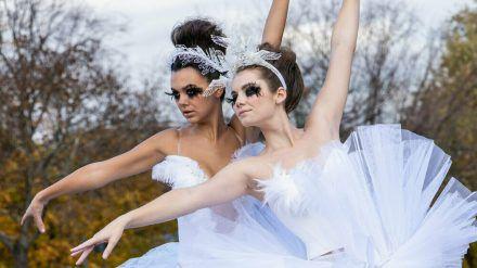 "Primaballerina in der dritten Folge von ""Germany's next Topmodel"" (mia/spot)"