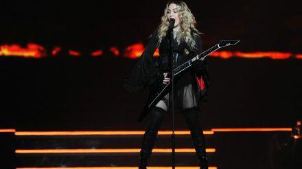 Madonna während eines Auftritts in Prag (rto/spot)