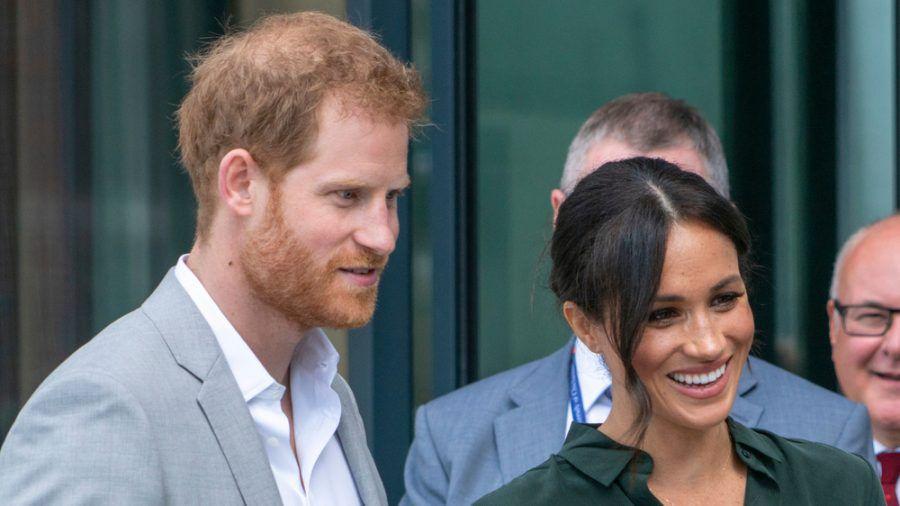Kehren nicht mehr als aktive Royals zurück: Prinz Harry und Ehefrau Meghan. (stk/spot)