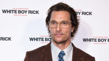 """Matthew McConaughey sprach für die """"Titanic""""-Hauptrolle vor. (dr/spot)"""