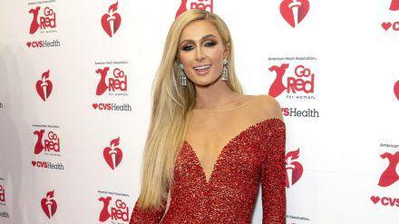 Paris Hilton 2020 auf dem roten Teppich. (mia/spot)