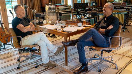 Bruce Springsteen und Barack Obama haben ein neuen Podcast (mia/spot)