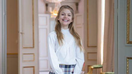 Prinzessin Estelle von Schweden feiert ihren 9. Geburtstag. (ili/spot)