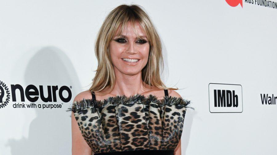 Heidi Klum ist stolz auf ihre Tochter Leni. (cos/spot)