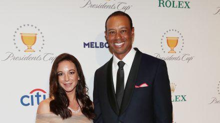 Tiger Woods gemeinsam mit seiner Freundin Erica Herman im Dezember 2019. (dr/spot)