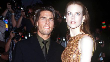 """Nicole Kidman und Tom Cruise bei der Premiere von """"Eyes Wide Shut"""" 1999. (hub/spot)"""