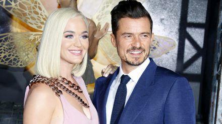 Katy Perry und Orlando Bloom auf dem roten Teppich im August 2019. (jom/spot)