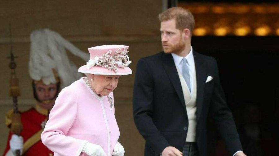 Queen Elizabeth II. und Prinz Harry im Mai 2019. (jru/spot)