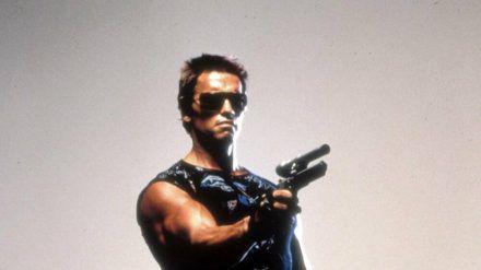 """Mit der Rolle als """"Terminator"""" feierte Arnold Schwarzenegger einst seinen Durchbruch. (jru/spot)"""