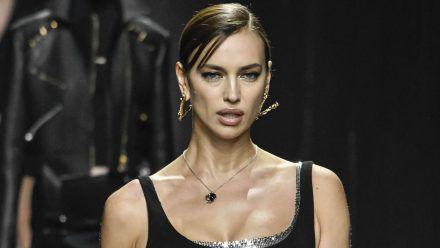 Irina Shayk: Das Zeug aus der Pfanne landete auch in ihrem Gesicht
