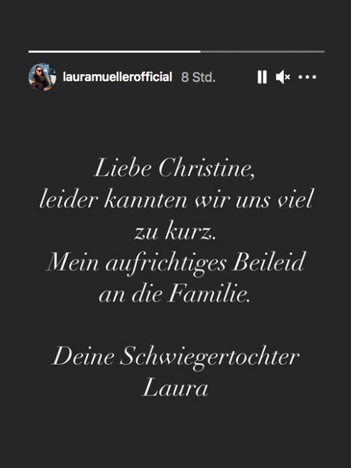 Laura Müller zum Tod der Wendler-Mutter