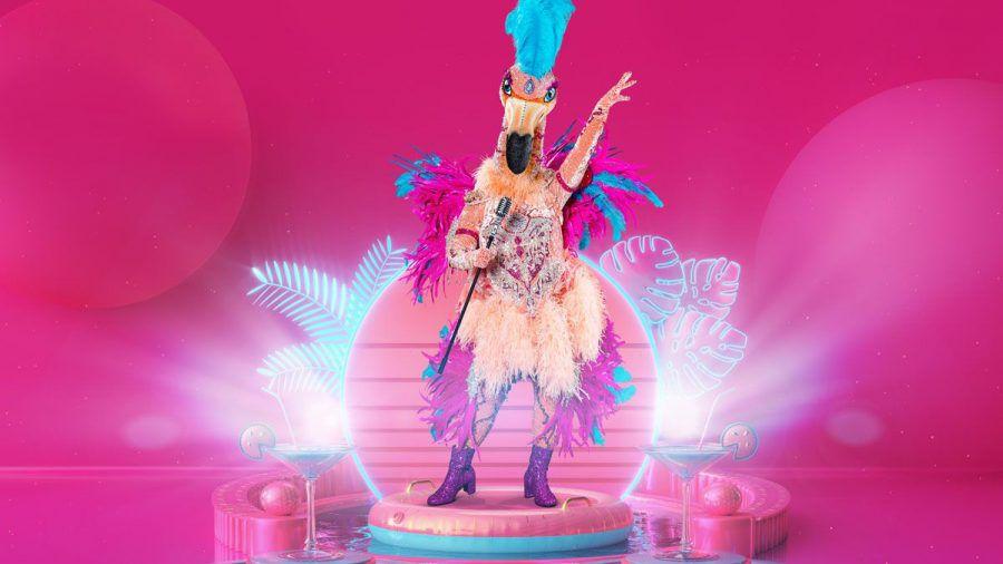 """""""The Masked Singer"""": Der Flamingo kommt mit 20.000 Swarovski-Kristallen"""