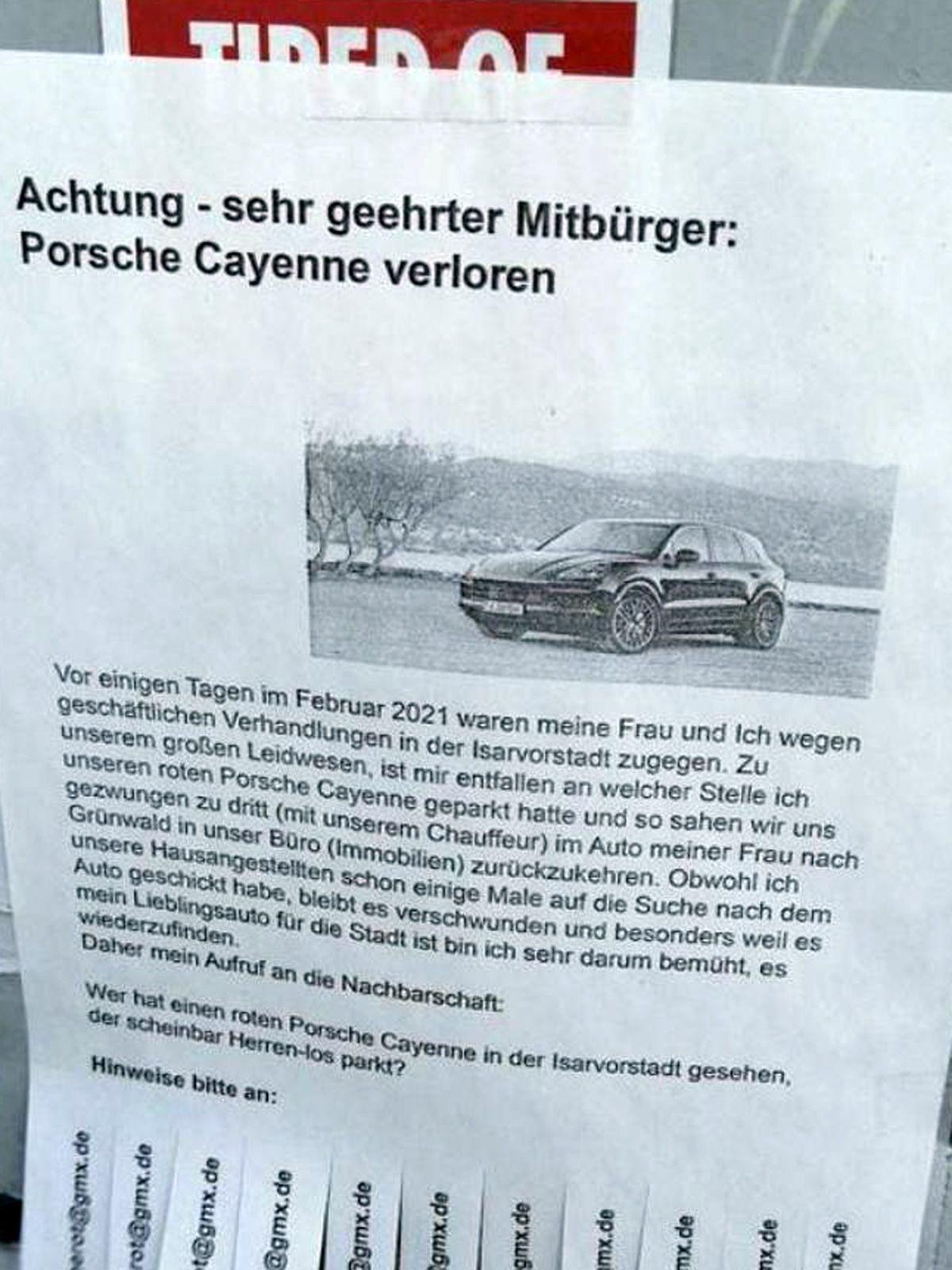 Fakt oder Fake: Porschefahrer weiß nicht mehr, wo er geparkt hat