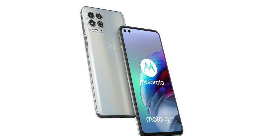 Das Moto G100 ist Motorolas Jubiläumsmodell für zehn Jahre Moto-G-Smartphones.