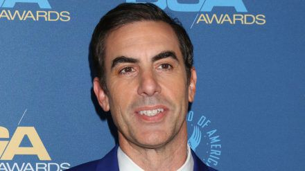 Zwei Oscars winken Sacha Baron Cohen. (stk/spot)