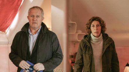 """""""Tatort: Die Amme"""": Moritz Eisner (Harald Krassnitzer) und Bibi Fellner (Adele Neuhauser) (cg/spot)"""