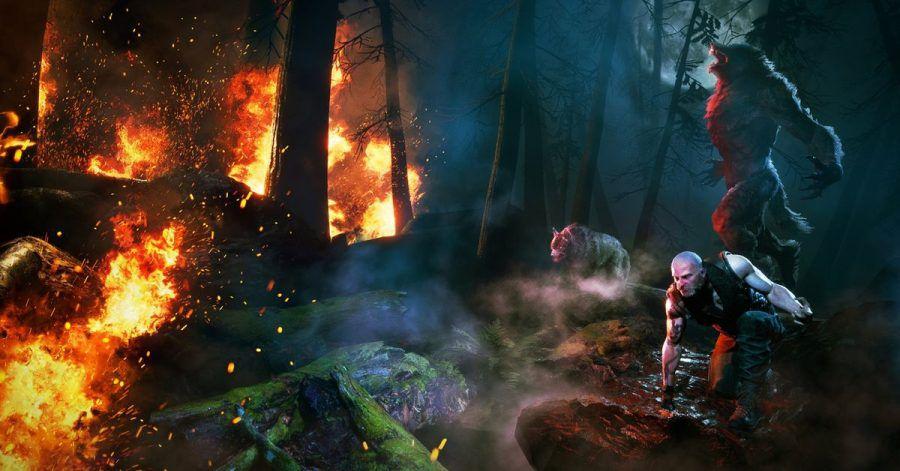 Umweltzerstörung und Unterdrückung?Da rastet der Werwolf im Spieler kurz mal aus.