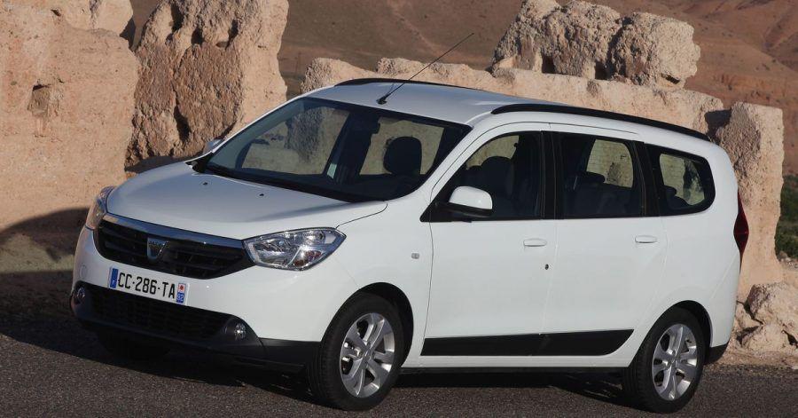 Für Raumfahrer: Der Dacia Lodgy bietet Platz für bis zu sieben Insassen.