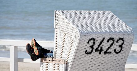 Zu Ostern sollen die Menschen in diesem Jahr wegen der Corona-Lage möglichst nicht in die Küstenorte reisen.