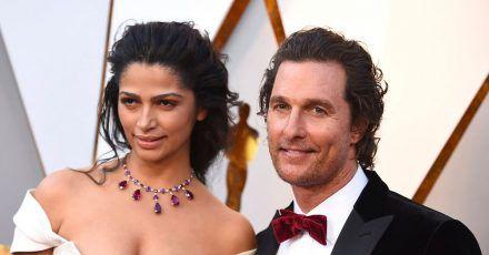 Matthew McConaughey und Camila Alves sind seit 2012 miteinander verheiratet.