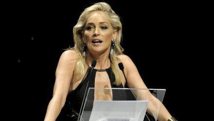 Sharon Stone 2012 in Mailand (mia/spot)