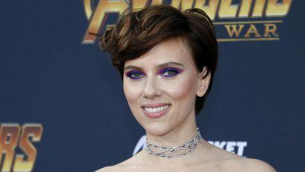 """Scarlett Johansson auf der Premiere von """"Avengers: Infinity War"""". (wue/spot)"""
