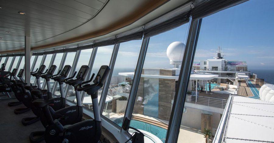Fitnessstudio auf der «Mein Schiff 1» von Tui Cruises.