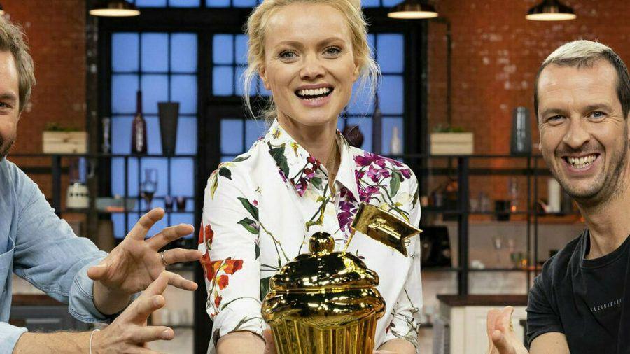 Franziska Knuppe hat den goldenen Cupcake gewonnen. (eee/spot)