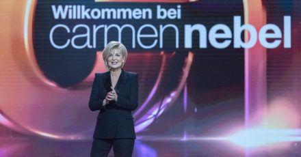 Carmen Nebel:«Es war die schönste Show meines Lebens.»
