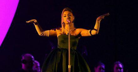 Ariana Grande sucht Talente aus Nachwuchsreihen.