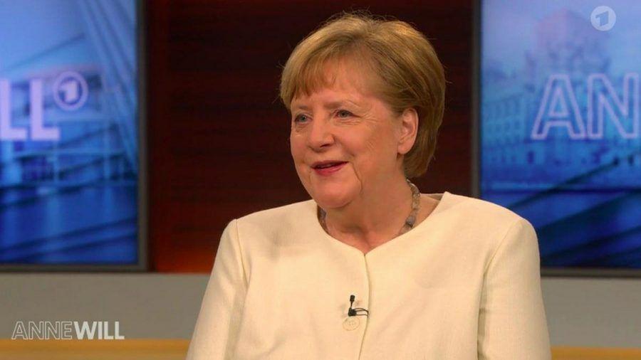 """Angela Merkel im ARD-Polittalk """"Anne Will"""". (dr/spot)"""