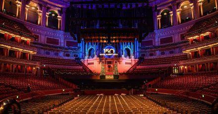 Die Londoner Royal Albert Hall feiert ihr  150-jähriges Bestehen.