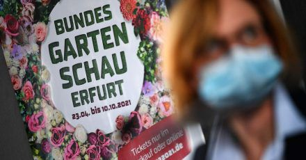 Wer die Bundesgartenschau in Erfurt besuchen möchte, muss sein Ticket im Vorverkauf kaufen.