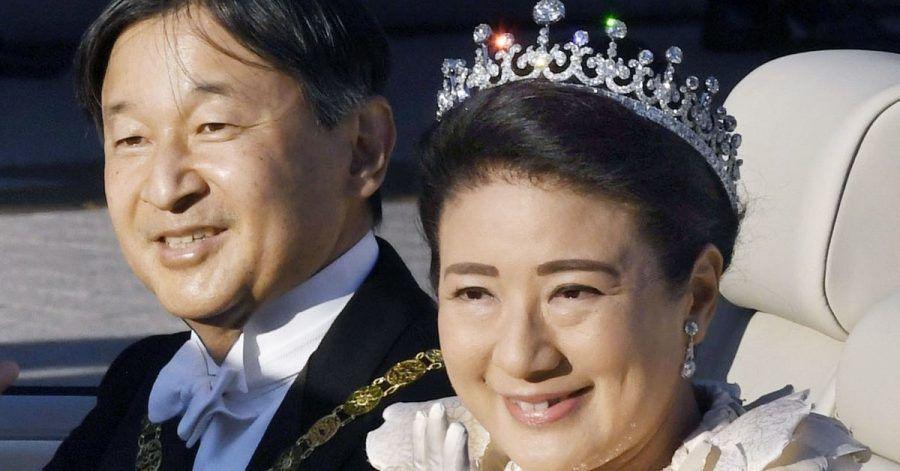 Eltern einer Tochter:Kaiser Naruhito und Kaiserin Masako.