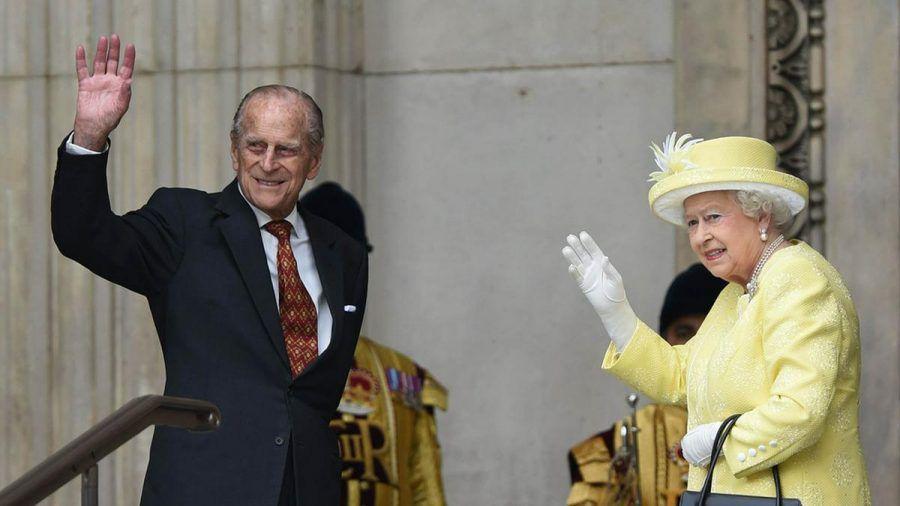 Die Queen und Prinz Philip bei einem Auftritt 2016. (hub/spot)