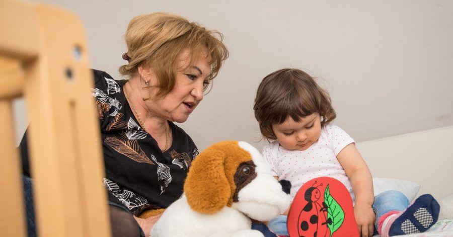 Großes Glück: Viele Menschen wünschen sich Enkelkinder.