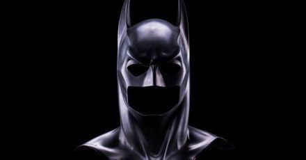 Die Maske, die Bruce Wayne in «Batman Forever» trug.