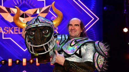 "Guildo Horn steckte bei ""The Masked Singer"" im Stierkostüm. (wag/spot)"