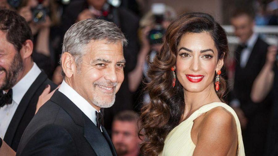 George und Amal Clooney vor wenigen Jahren in Cannes. (wue/spot)